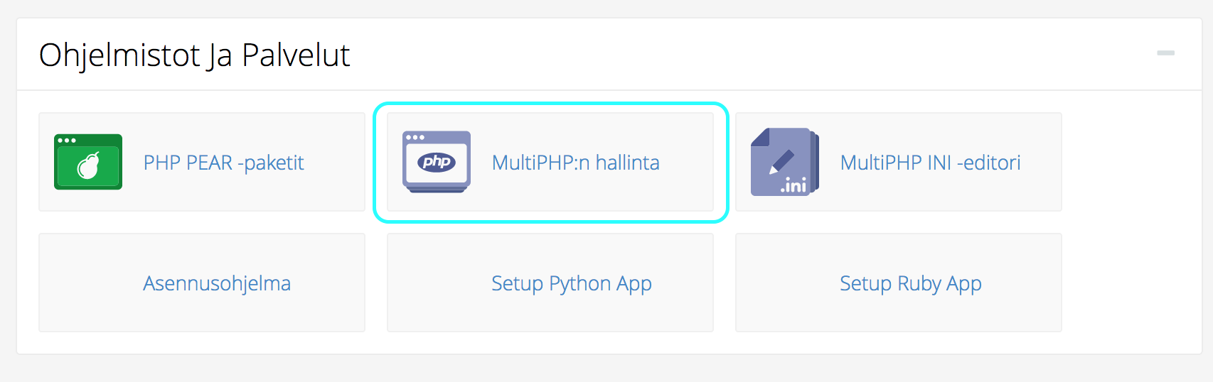 PHP versio
